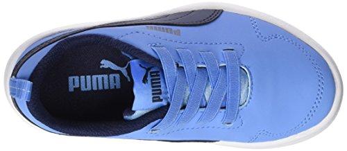 Puma Unisex-Kinder Courtflex PS Sneaker Blau (Little boy Blue-Peacoat)