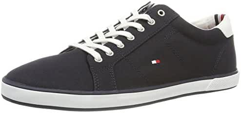 Tommy Hilfiger Men's Flag Trainers, Blue