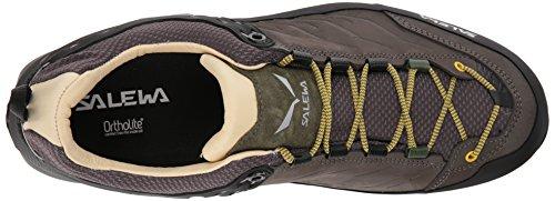 SALEWA Ms MTN Trainer L, Stivali da Escursionismo Uomo Marrone (Walnut/Golden Palm 7509)