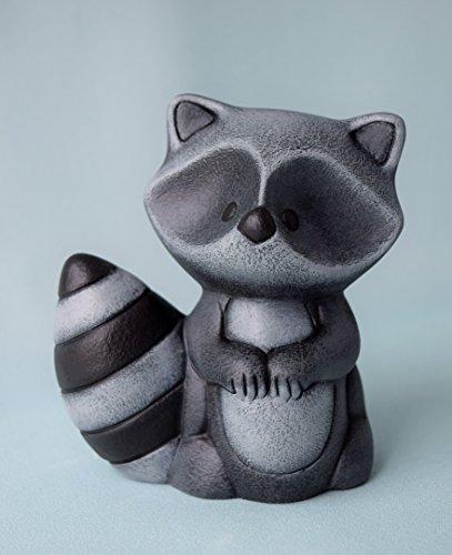 Cute Ceramic Raccoon Figurine (Raccoon Figurine)