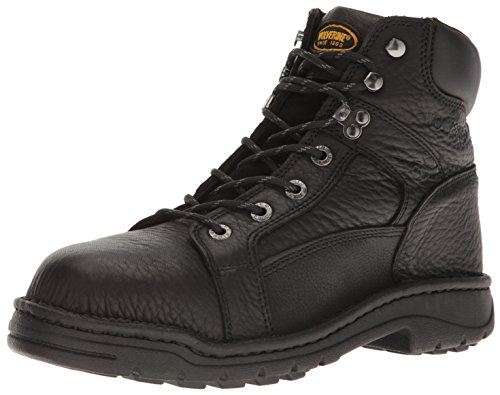 UPC 018461875778, Wolverine Men's Exert Durashock Steel Toe Boot,Black,8.5 XW US