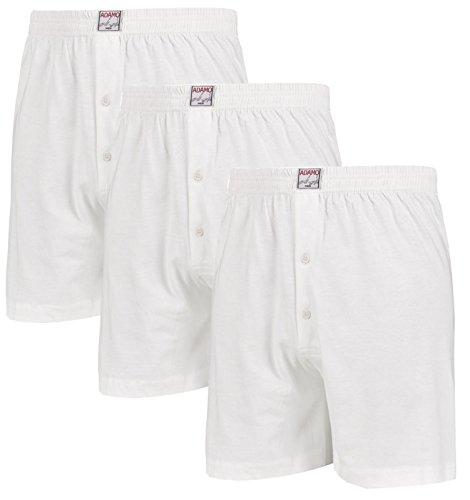 Bianco Cotone Adamo Size Pantaloncini Boxer Big IwpUqUSf