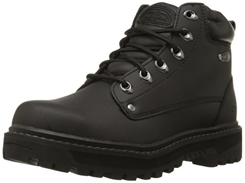 Skechers Men's Pilot Utility Boot,Black,11.5 M US