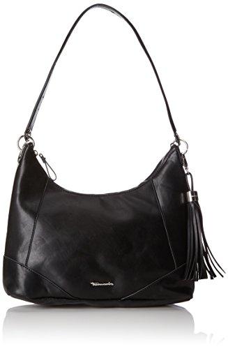 Tamaris Melanie Hobo Bag, Sacs portés épaule Noir (Black)