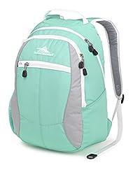 High Sierra Curve Backpack, Aquamarine/Ash/White