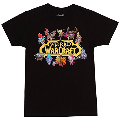 World of Warcraft Characters Logo T-Shirt (XXX-Large)