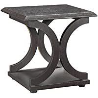 Bowery Hill End Table in Cappuccino
