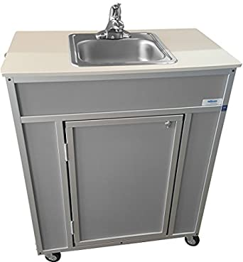 Monsam NS-009S NSF Certified Single Basin Self Contained ...