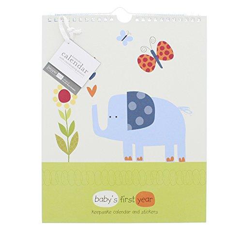 Pepper Pot Keepsake Calendar with Coordinating Stickers (Jungle