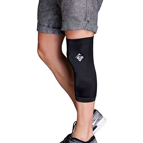 Copper Knee Brace With Infused Fit By Cotill - Knee Support Compression Sleeve For Sports, Arthritis, Joint Pain, Pain Relief and Injury Recovery And More - Single (Small)