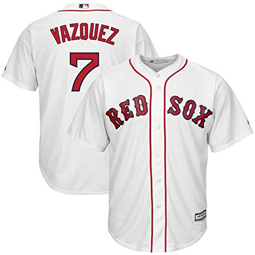 Majestic Majestic Christian Player スポーツ用品 Vazquez Boston Red Sox White Christian Home Cool Base Replica Player Jersey スポーツ用品【並行輸入品】 S B07GFSHVCP, アフロ インテリアショップ:ac10be04 --- cgt-tbc.fr