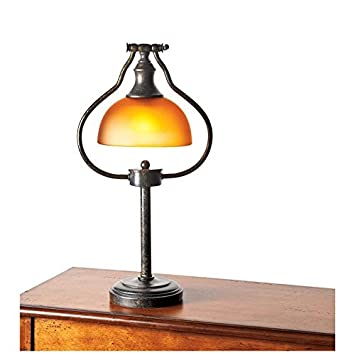 18u0027u0027 H Library Desk Lamp With An Antique Bronze Finish