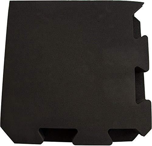 XCEL Puzzle Piece Jumbo Interlocking Foam Floor Tiles, 9 Pieces, 4' x 4' x 1/2