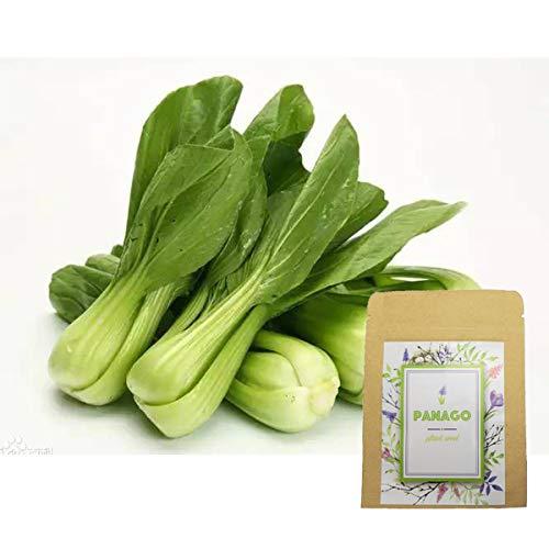 2000+ Baby Bok Choy Seeds for Garden Planting, Non-GMO Organic Heirloom Green Vegetable Seeds