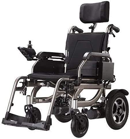 人気料金独占デラックス電動車椅子は、強力な、折り畳み式パワー車椅子用通路、軽量折りたたみ電動車椅子キャリー折りたたみ電動式