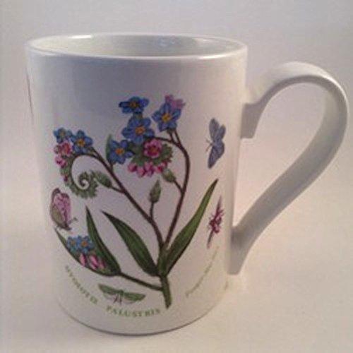 Portmeirion Botanic Garden 10 oz Individual Coffee Mug - Forger-Me-Not