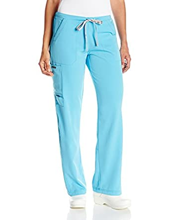 c94203e3632 WonderWink Women's Hp Cargo Scrub Pant, Turquoise/Blue, Medium Petite:  Amazon.in: Amazon.in