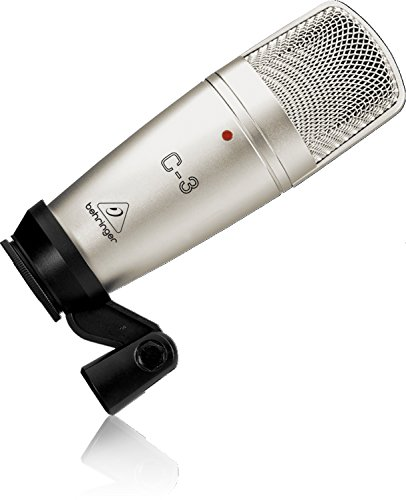 (Behringer C-3 Professional Large Dual-Diaphragm Studio Condenser Microphone)