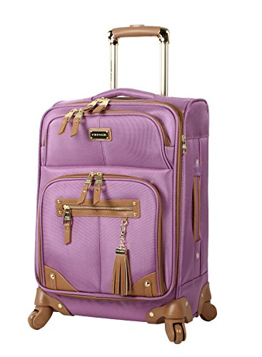 steve-madden-luggage-carry-on-20-expandable-softside-suitcase-with-spinner-wheels-20in-harlo-purple