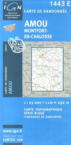 Read Online Amou/Montfort-en-Chalosse: IGN1443E pdf epub
