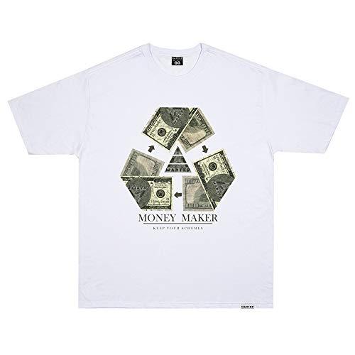 Camiseta Wanted - Make Money branco Cor:Branco;Tamanho:XG