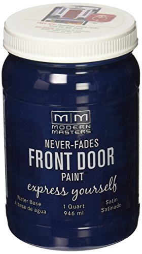 Modern Masters 275270 Satin Front Door Paint, 1 Quart, Calm