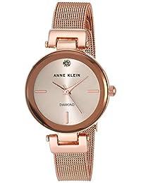 Anne Klein AK3034RGRG Reloj para Mujer, Rosa, 35 mm