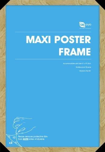 Oak Wood Effect Maxi Poster Frame - 61cm x 91.5cm by GB eye Ltd by GB eye Ltd (Image #1)