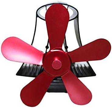 YL106 - Ventilador térmico para estufa de leña con calor para leña ...