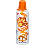 Easy Cheese, Sharp Cheddar, 8 Ounce (Pack of 12)