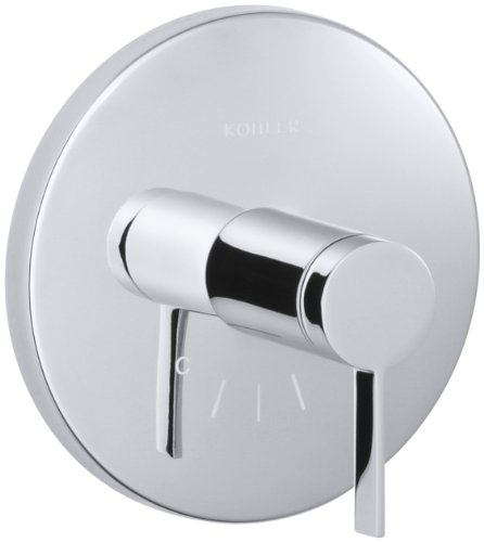 - KOHLER K-T10940-4-CP Stillness Thermostatic Valve Trim, Polished Chrome