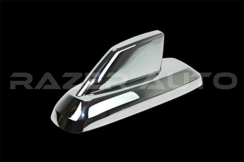 - Razer Auto Triple Chrome plated Antenna Cover (Only for Antenna with Large Base Size: 7