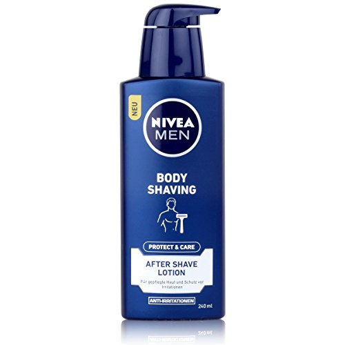 Price comparison product image Nivea Men Protect & Care Body Shaving After Shave Lotion 240 ml / 8.0 oz