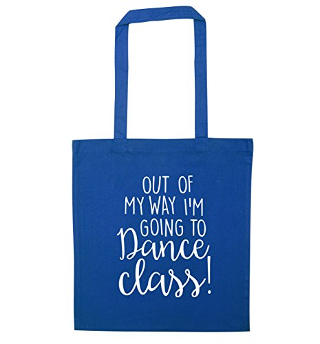 Out Blue tote my of going I'm way dance class to bag rCrwvqRFx