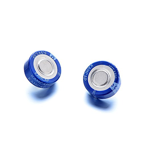 Atoplee 2pcs 5.5V 1.5F Super Capacitor Monomer Farah Capacitor Car Start (Super Capacitor)