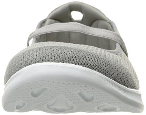 Skechers Go Step Lite-Blooming Damen US 8 Grau Wanderschuh