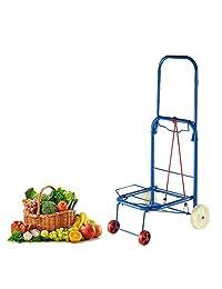 Portable Folding Shopping Cart Hand-Drawn Luggage Cart Travel Old Man Trolley