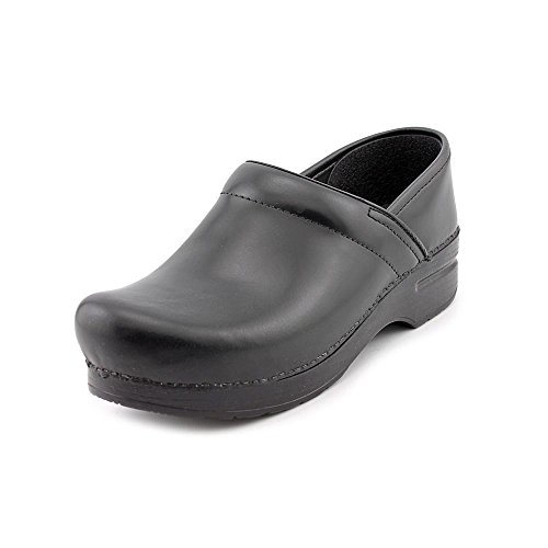 - Dansko Women's Professional Pro Cabrio Leather Clog,Black,37 EU / 6.5-7 B(M) US