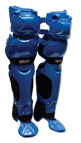 Schutt S3 Leg Guards (Royal/Blue, 16-Inch)
