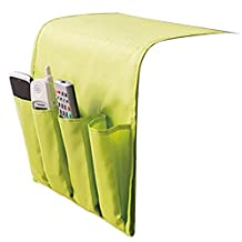 Couch Armrest Organizer Hanging Book Pouch TV Remote Control Caddy by YAHUIPEIUS (Green)