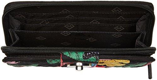 Vera Bradley Women's Rfid Turnlock Wallet, Havana Rose by Vera Bradley (Image #4)