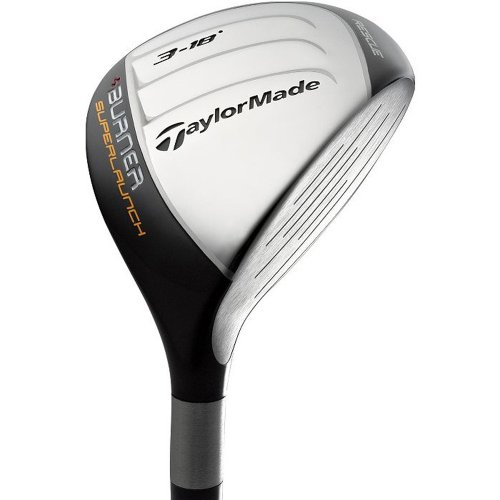 TaylorMade Burner SuperLaunch Rescue Hybrid Club : right, 21 RE-AX SuperFast 60 Graphite (Stiff) Burner Rescue Hybrid Wood