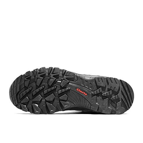 Air Hkm822d Uneebtex Clorts Randonnée x De Suède Plein Noir Chaussures De Randonnée De Femmes Mi De Chaussure En Imperméable awwP4q5
