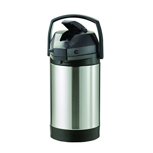 Service Ideas SVAP38CPL Economy Airpot with Lever, Stainless Steel Lined, NSF Listed, 3.8 L by Service Ideas