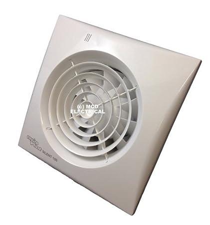 Surprising Envirovent Silent 100 Ht Bathroom Extractor Fan Humidistat Download Free Architecture Designs Sospemadebymaigaardcom