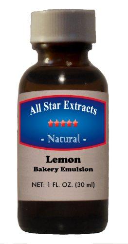 Natural Lemon Bakery Emulsion (Bakery Emulsion Lemon compare prices)