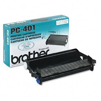 Brother Ppf 560/565/580mc/Mfc 660mc Print Cartridge 150 Yield Professional Grade Highest Quality (Brother Pc401 Black Ribbon)