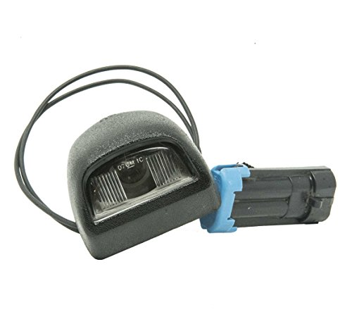 General Motors Genuine GM 22788117 License Plate Lamp, Rear (General Motors Parts Accessories)