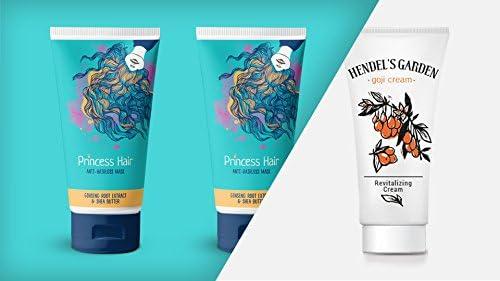Hendel del jardín princesa pelo Paquete, con una crema de Goji – pelo máscara – día y crema de noche – regalo – para el cuidado del cabello – Productos Naturales: Amazon.es: Belleza