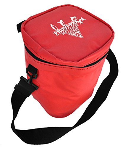 Built U.S.A. Seattle Sports Frost Pack 12-Quart Soft Cooler (Red) - Excursion Pak